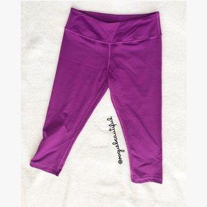 Lululemon Purple Crop Leggings
